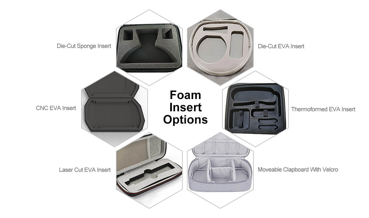 EVA Case Foam inserts