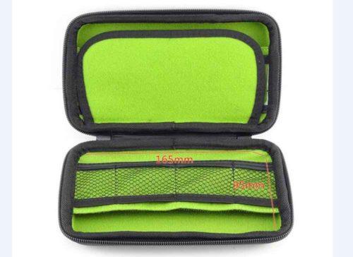 eva hard dish case zipper
