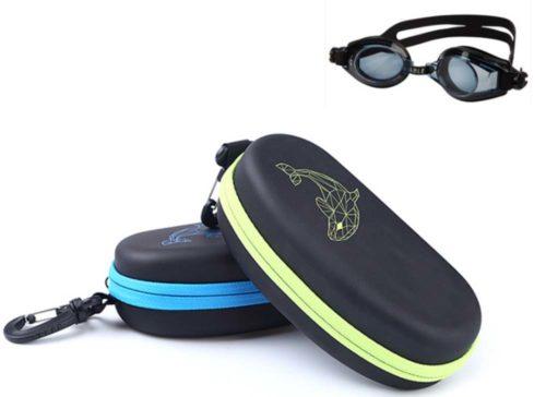 eva swimming glasses cases