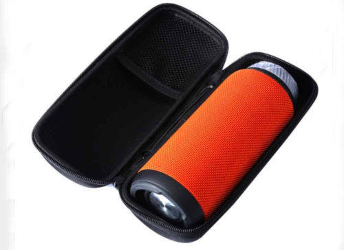 zipper eva speaker case bag